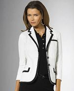 lauren-ralph-lauren, Lauren by ralph lauren, blazer, piped blazer, chic blazer, fashion, style