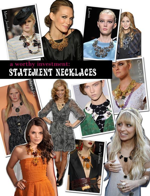 A Worthy Investment: Statement Necklaces post image