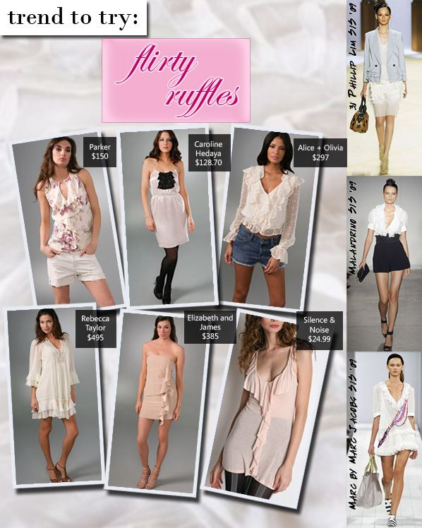 Trend to Try: Flirty Ruffles post image