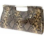 banana, banana republic, clutch, bag, handbag, python clutch, fashion, style