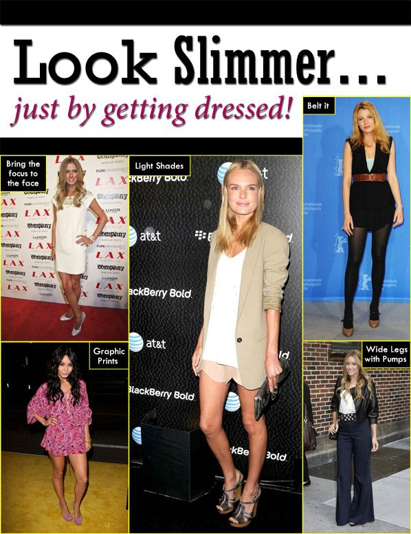 Look Thinner By Getting Dressed! post image
