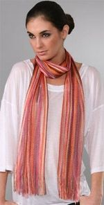 missoni, scarf, lightweight scarf, fashion