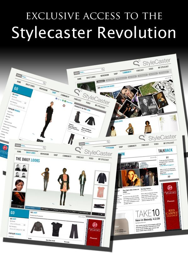 Exclusive Access to the StyleCaster Revolution! post image