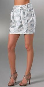 porter, porter grey, skirt, miniskirt, belted skirt, fashion, style, trend