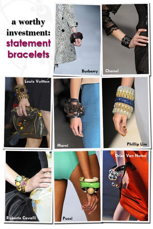 A Worthy Investment: Statement Bracelets post image
