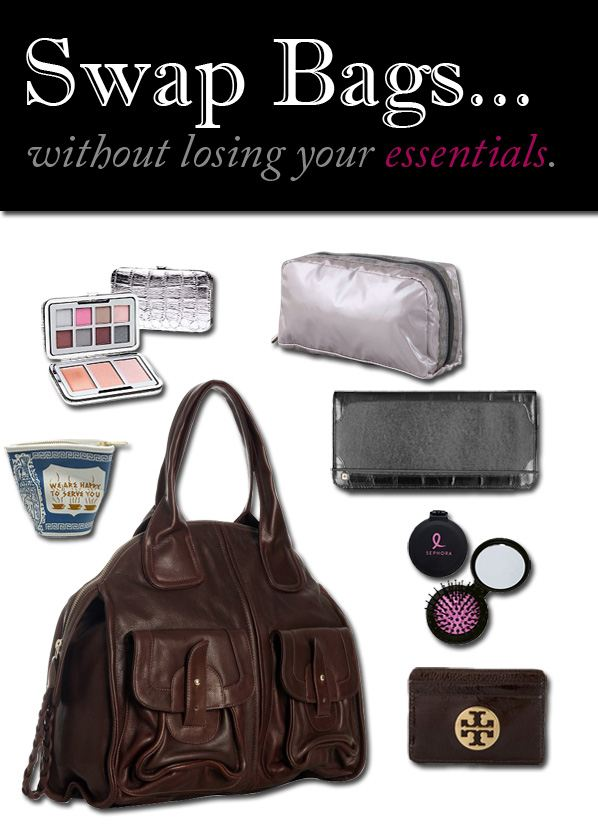 Swap Bags…Without Losing Your Essentials post image