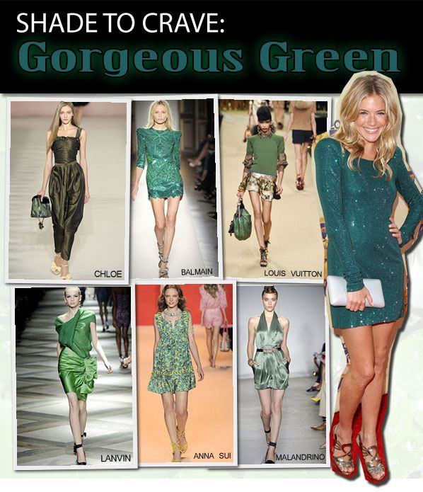 Shade to Crave: Gorgeous Green post image