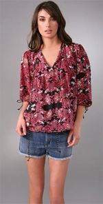 whitley, whitley kros, top, tunic, printed tunic, fashion, style