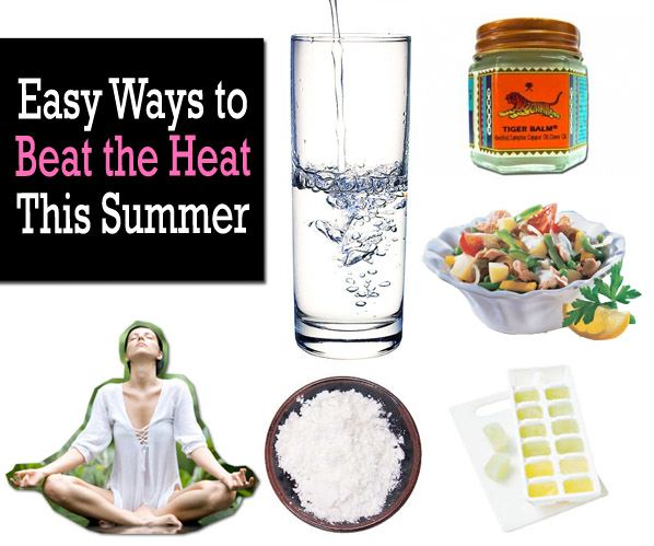 Easy Ways To Beat The Heat This Summer post image