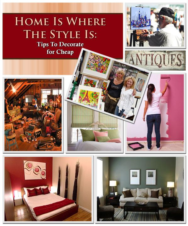 Home Is Where The Style Is: Tips To Decorate For Cheap post image