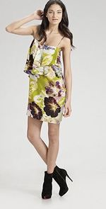 ali ro, dress, floral dress, fashion, style