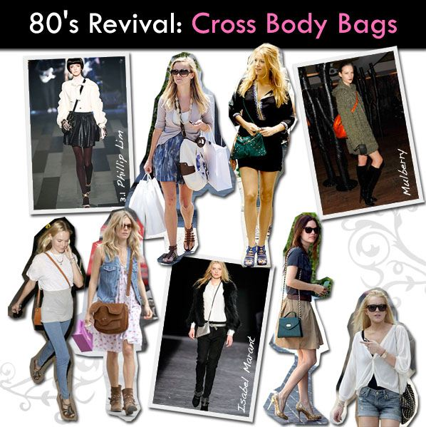 80′s Revival: Cross Body Bags post image