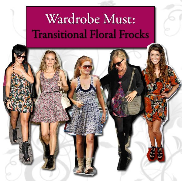 Wardrobe Must: Transitional Floral Frocks post image