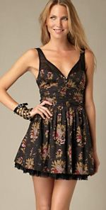 free people, dress, floral dress, fashion, style