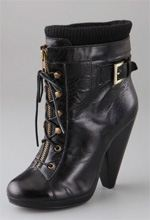 ronson, charlotte ronson, boots, booties, lace up booties