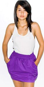 american apparel, skirt, purple skirt