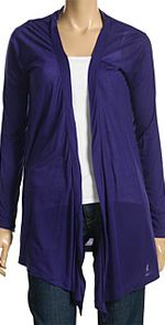 volcom, cardigan, purple cardigan