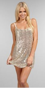 Free People, dress, sequin dress