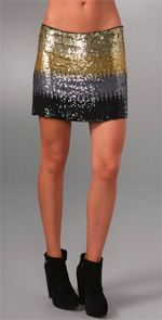 Haute Hippie, skirt, sequined skirt