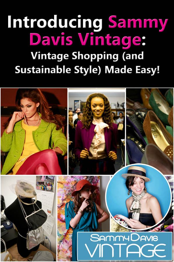 Introducing Sammy Davis Vintage: Vintage Shopping (and Sustainable Style) Made Easy! post image
