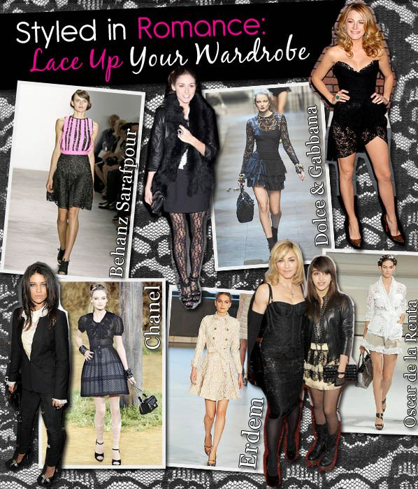 Styled in Romance: Lace Up Your Wardrobe post image