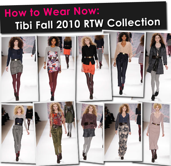 How to Wear Now: Tibi Fall 2010 RTW Collection post image