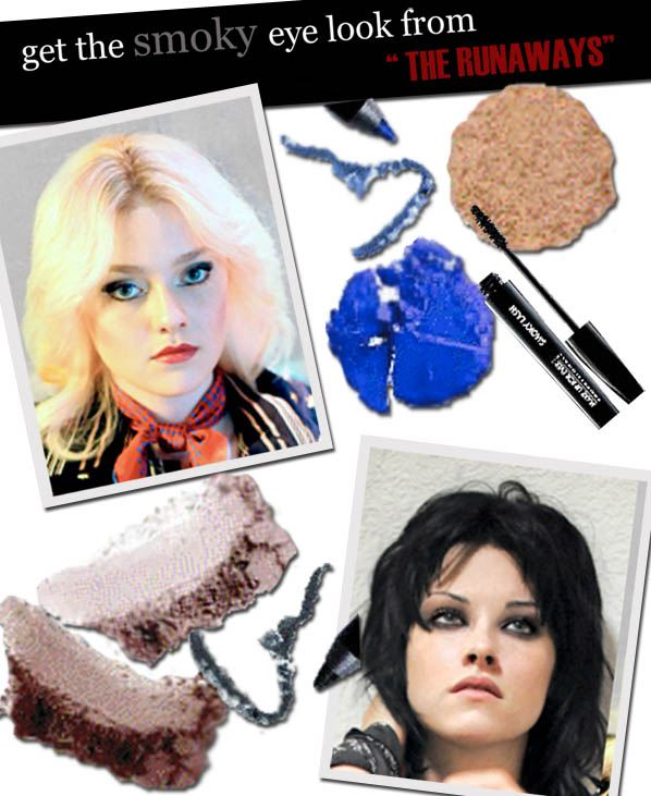 "Get the Smoky Eye Look from ""The Runaways"" post image"