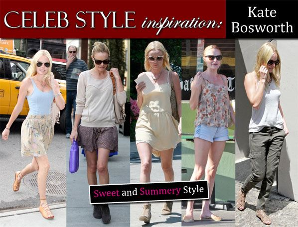 Celeb Style Inspiration: Kate Bosworth post image