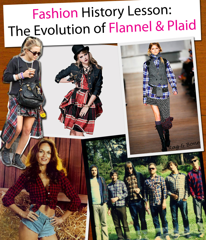 Fashion History Lesson: The Evolution of Flannel & Plaid post image
