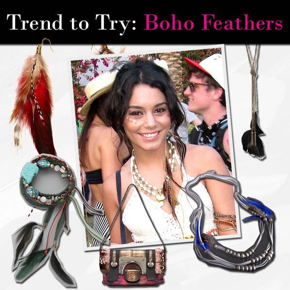 Trend to Try: Boho Feathers post image