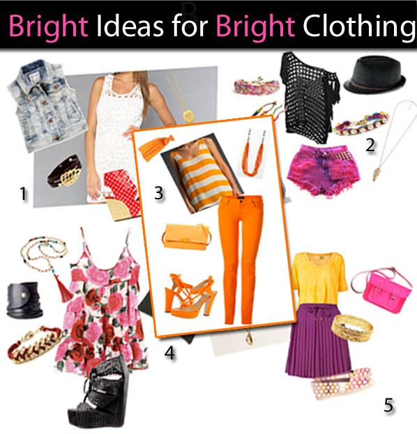 Bright Ideas for Bright Clothing post image