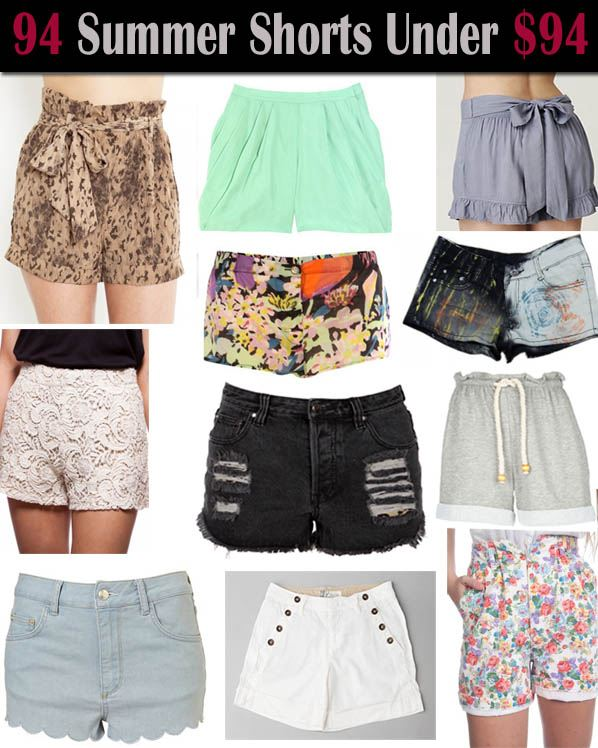 94 Days of Summer Shorts All Under $94 post image