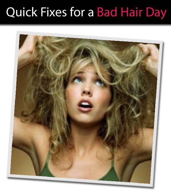 Quick Fixes for a Bad Hair Day post image