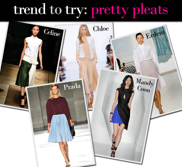 Trend to Try: Pretty Pleats post image