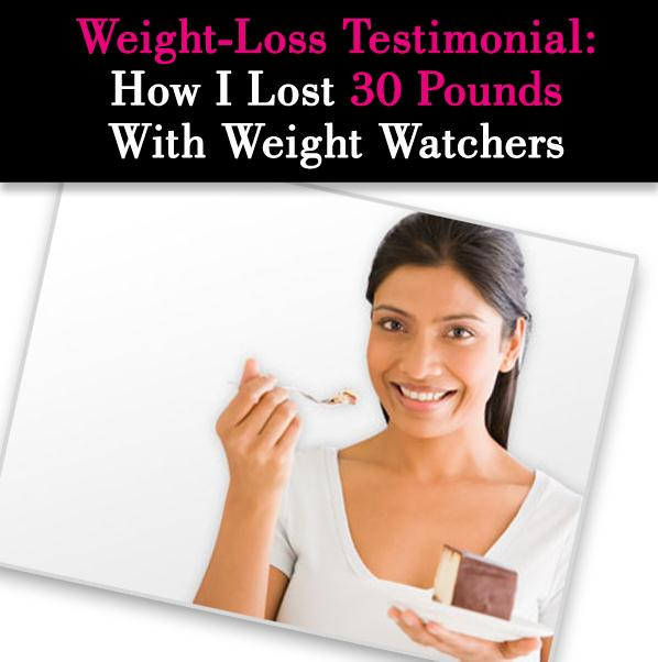 Weight-Loss Testimonial: How I Lost 30 Pounds on Weight Watchers post image