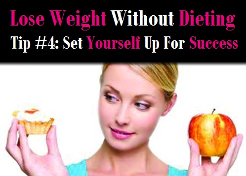 Lose Weight Without Dieting Tip #4: Set Yourself up for Success post image