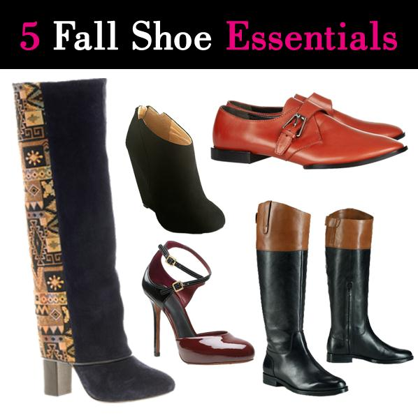 5 Fall Shoe Essentials post image