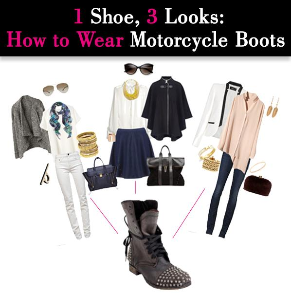 One Shoe, Three Looks: How to Wear Biker Boots post image