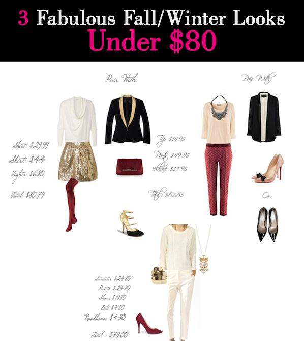 3 Fabulous Fall/Winter Outfits Under $80 post image