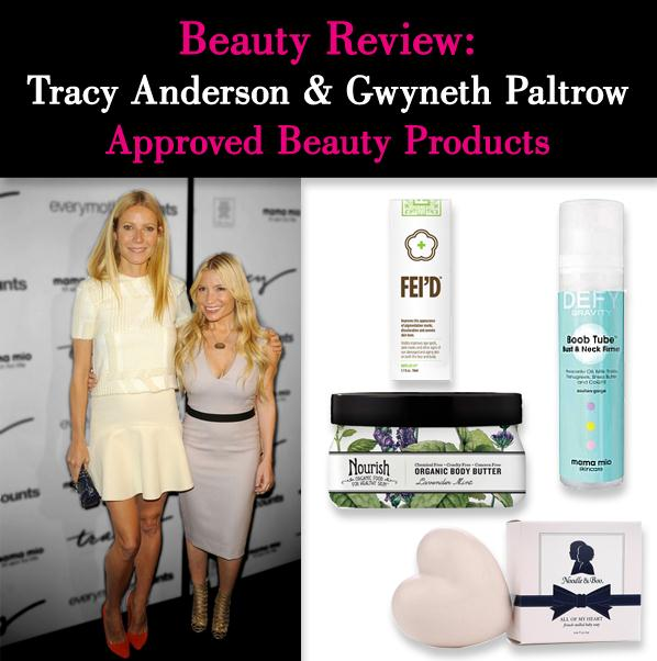 Beauty Review: Tracy Anderson and Gwyneth Paltrow Approved Beauty Products post image