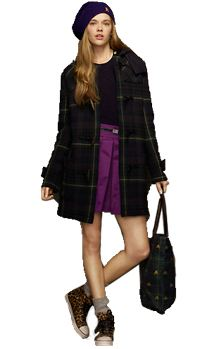 Tartan Toggle Coat-200px