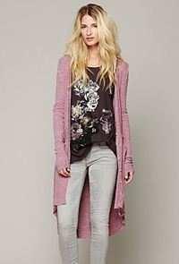 Free People long cardigan