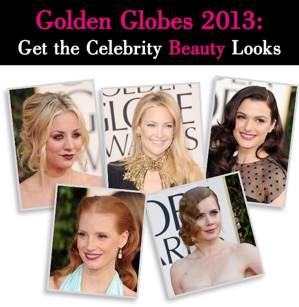 Golden Globes 2013: Get the Celebrity Beauty Looks post image