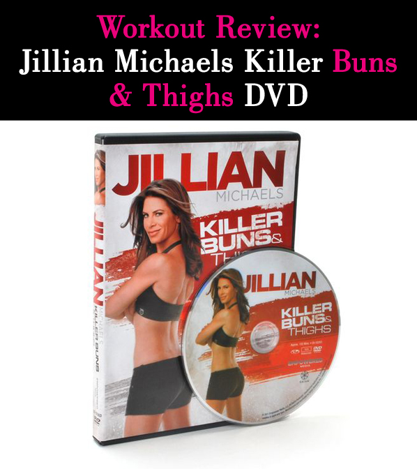 Workout Review: Jillian Michaels Killer Buns & Thighs DVD post image