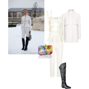 Look 2 Winter White