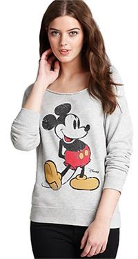 Mickey Mouse Off Shoulder