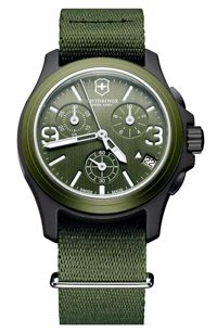Victorinox swiss army chronograph watch