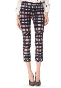derek lam plaid pants