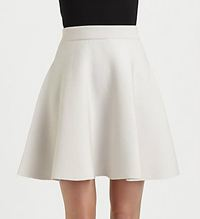 rebecca taylor knit flared skirt