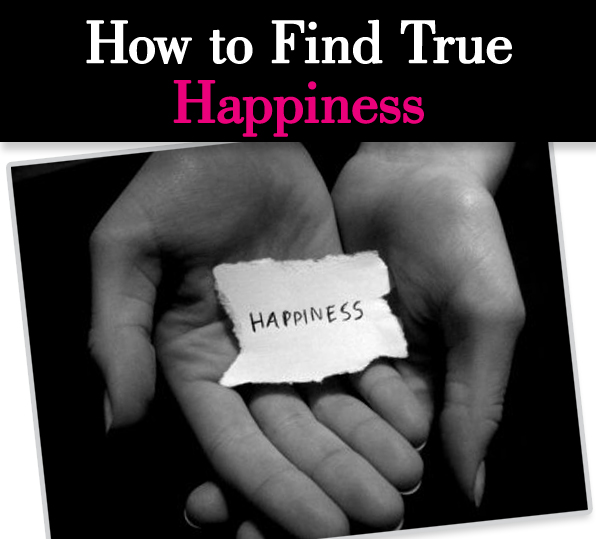 How to Find True Happiness pos